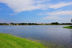 Lake on a beautiful day Royalty Free Stock Photography