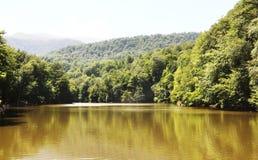 Lake. Beautiful place in Dilijan Armenia Stock Photography