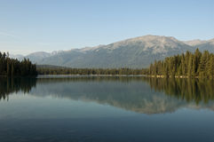 Lake Beauvert, Jasper, Alberta, Canada Royalty Free Stock Photo