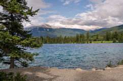 Lake Beauvert Royalty Free Stock Photography