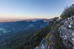 Lake Bellfield, from Boroka Lookout, Grampians Stock Photography