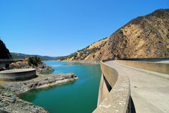 Lake Berryessa Dam Royalty Free Stock Photo