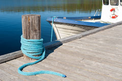A lake berth Stock Photos