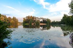 Lake Bezdonnoe Royalty Free Stock Photos