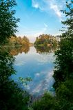 Lake Bezdonnoe Royalty Free Stock Photography