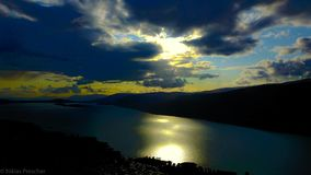 Lake of Biel Royalty Free Stock Photo
