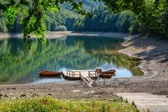 Lake Biograd in Montenegro Stock Photos