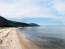 Lake Biwa, Shiga, Japão Imagem de Stock Royalty Free