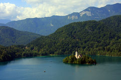 Lake Bled Stock Image