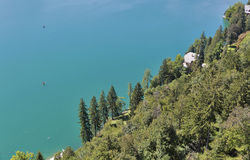Lake Bled aerial landscape Royalty Free Stock Photography
