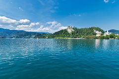 Lake Bled Royalty Free Stock Photography