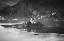 Lake Bled Royalty Free Stock Photo