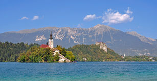 Lake Bled,Julian Alps,Slovenia Royalty Free Stock Image