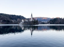Lake of Bled Stock Image