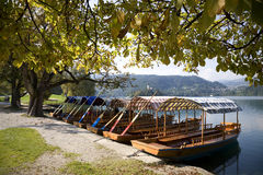 By Lake Bled Slovenia Stock Image