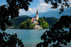 Lake Bled in Slovenia Stock Photos