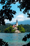 Lake Bled in Slovenia Stock Images