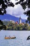 Lake Bled Slovenia Stock Image