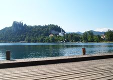 Lake Bled, Slovenia Royalty Free Stock Photos