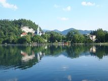 Lake Bled, Slovenia Royalty Free Stock Photography