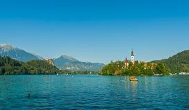 Lake Bled, Slovenia Stock Image