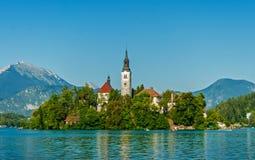 Lake Bled, Slovenia Royalty Free Stock Photos