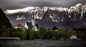 Lake Bled - Slovenia Royalty Free Stock Images