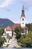 Lake Bled Slovenia Stock Images
