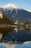 Lake Bled Stock Image
