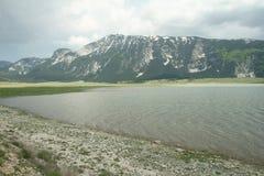 Lake Blidinje in Bosnia and Herzegovina. In a spring Stock Images