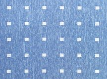 Lake blue lattice fabric Royalty Free Stock Image