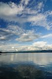 Lake with blue sky Royalty Free Stock Photos