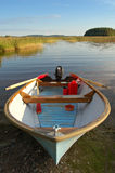 Lake boat Stock Image