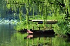 Lake boat Royalty Free Stock Images