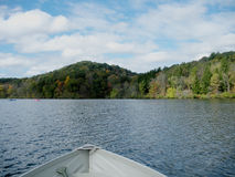 Lake From A Boat View Royalty Free Stock Photography