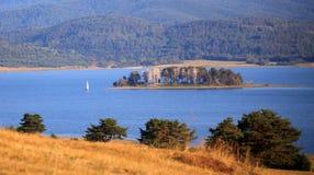 Lake and boat Royalty Free Stock Photo