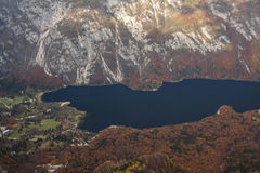 Lake Bohinj Royalty Free Stock Image