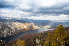 Lake Bohinj Royalty Free Stock Images