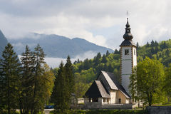 Lake Bohinj Royalty Free Stock Photography