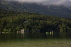 Lake Bohinj Arkivbilder