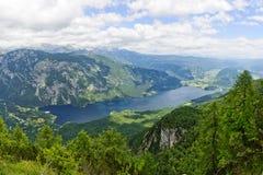Lake Bohinj Royalty Free Stock Images