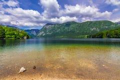 Lake Bohinj Royalty Free Stock Image
