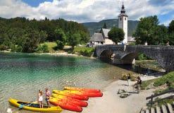 Free Lake Bohinj In National Park Triglav,Slovenia Royalty Free Stock Images - 78141249