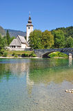 Lake Bohinj,Julian Alps,Slovenia Royalty Free Stock Image