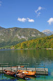 Lake Bohinj,Julian Alps,Slovenia Stock Photography