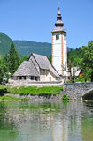 Lake Bohinj,Julian Alps,Slovenia Royalty Free Stock Images