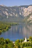 Lake Bohinj. In Julian Alps - Slovenia Stock Photo