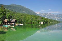 Lake Bohinj,Slovenia Royalty Free Stock Photography