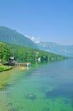 Lake Bohinj,Slovenia Royalty Free Stock Photo