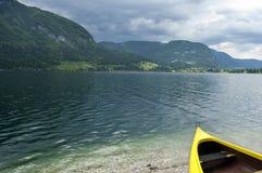 Lake Bohinj Slovenia Stock Images